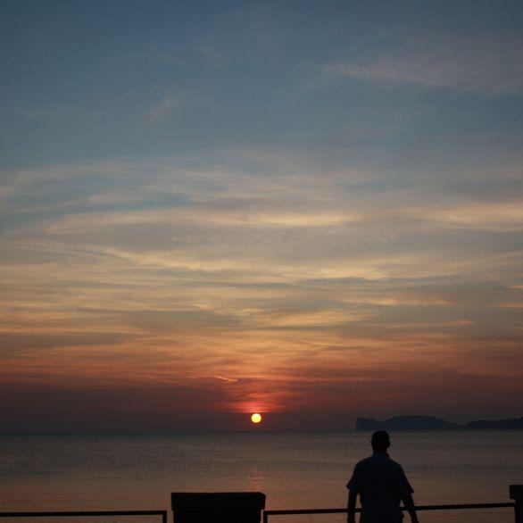 Lungomare Dante al tramonto