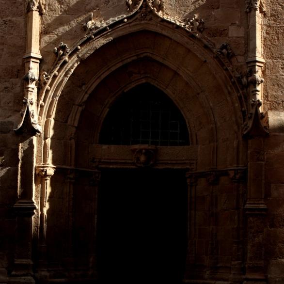 Portone del campanile della cattedrale di Santa Maria
